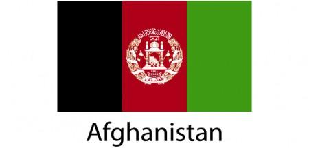 Afghanistan Flag sticker die-cut decals