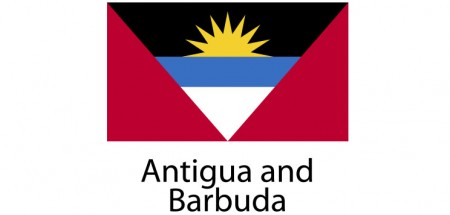 Antigua and Barbuda Flag sticker die-cut decals