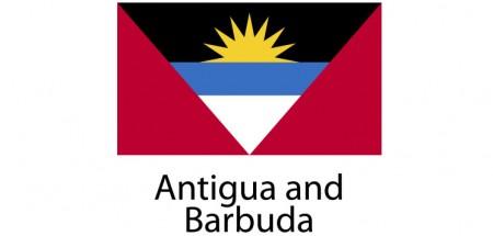 Antigua and Barbuda Flag sticker die-cut decals