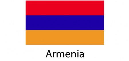 Armenia Flag sticker die-cut decals