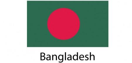 Bangladesh Flag sticker die-cut decals