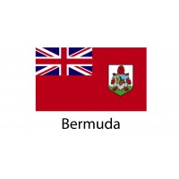Bermuda Flag sticker die-cut decals