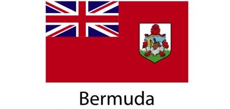 Bermuda Flag sticker die-cut decals