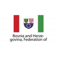 Bosnia and Herzegovina federation of Flag sticker die-cut decals