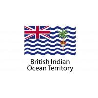 British Indian Ocean Territory Flag sticker die-cut decals