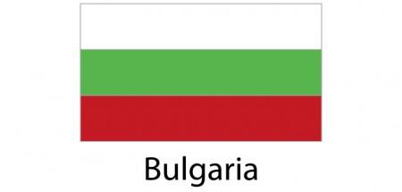 Bulgaria Flag sticker die-cut decals