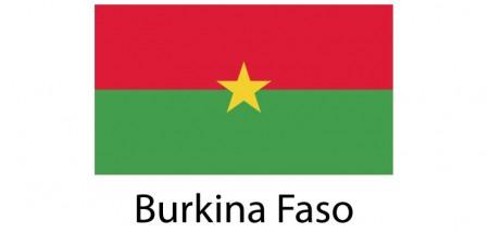 Burkina Faso Flag sticker die-cut decals
