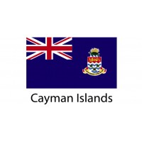 Cayman Island Flag sticker die-cut decals