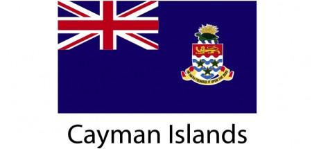 Cayman Island Flag sticker die-cut decals