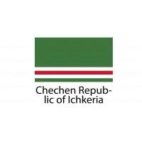 Chechen Republic of Ichkeria Flag sticker die-cut decals