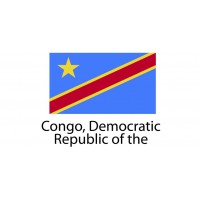 Congo Democratic Republic Flag sticker die-cut decals