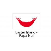 Easter Island Napa Nui Flag sticker die-cut decals