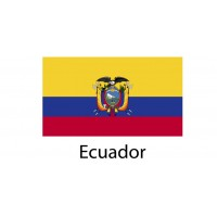 Ecuador Flag sticker die-cut decals