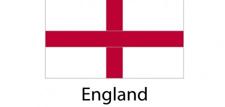 England Flag sticker die-cut decals