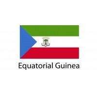 Equatorial Guinea Flag sticker die-cut decals