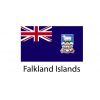 Falkland Island Flag sticker die-cut decals