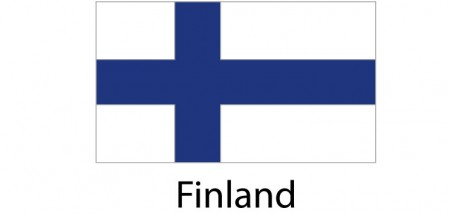 Finland Flag sticker die-cut decals