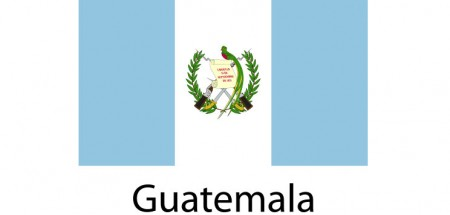 Guatemala Flag sticker die-cut decals