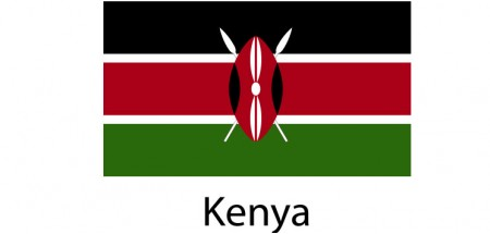 Kenya Flag sticker die-cut decals