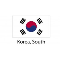 Korea South Flag sticker die-cut decals