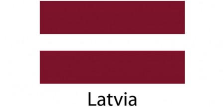 Latvia Flag sticker die-cut decals