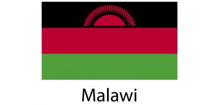 Malawi Flag sticker die-cut decals