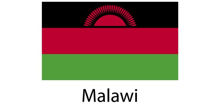 Malawi Flag sticker die-cut decals