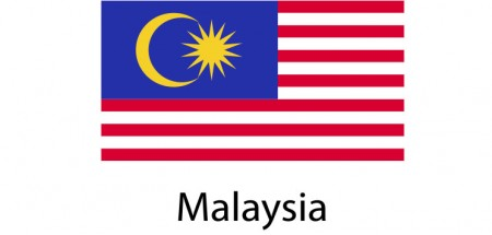 Malaysia Flag sticker die-cut decals