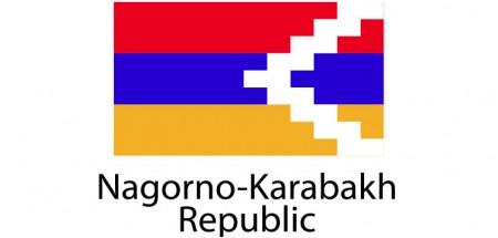Nagorno Karabakh Republic Flag sticker die-cut decals