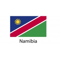 Namibia Flag sticker die-cut decals