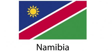 Namibia Flag sticker die-cut decals