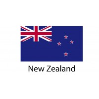 New Zealand Flag sticker die-cut decals