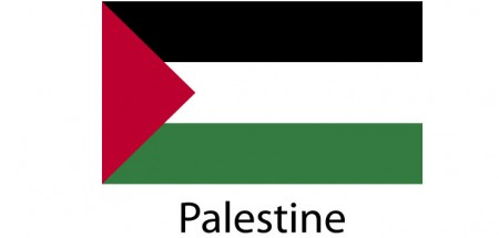 Palestine Flag sticker die-cut decals