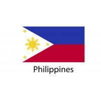 Philippines Flag sticker die-cut decals