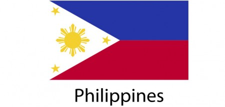 Philippines Flag sticker die-cut decals