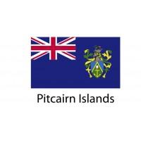 Pitcairn Island Flag sticker die-cut decals