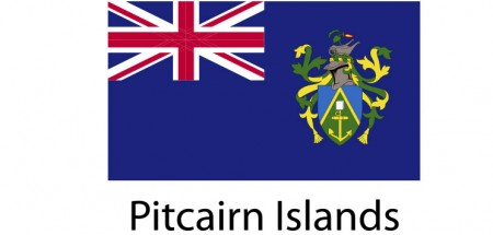 Pitcairn Island Flag sticker die-cut decals
