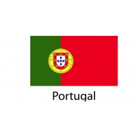 Portugal Flag sticker die-cut decals