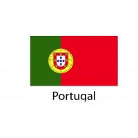 Portugal Flag sticker die-cut decals