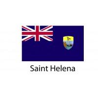 Saint Helena Flag sticker die-cut decals