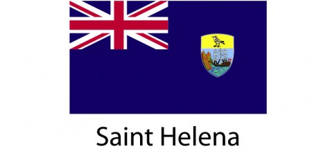 Saint Helena Flag sticker die-cut decals