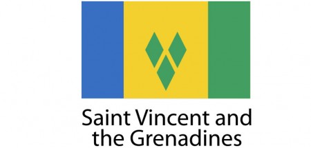 Saint Vicent and the Grenadines Flag sticker die-cut decals