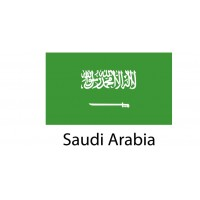 Saudi Arabia Flag sticker die-cut decals