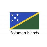 Solomon Islands Flag sticker die-cut decals