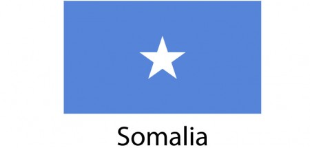 Somalia Flag sticker die-cut decals