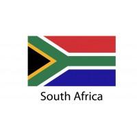 South Africa Flag sticker die-cut decals