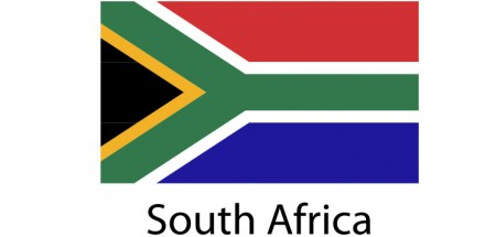 South Africa Flag sticker die-cut decals