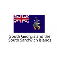 South Georgia and the South Sandwich Island Flag sticker die-cut decals