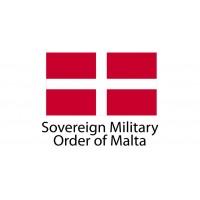 Sovereing Military Order of Malta Flag sticker die-cut decals