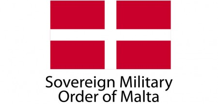 Sovereing Military Order of Malta Flag sticker die-cut decals